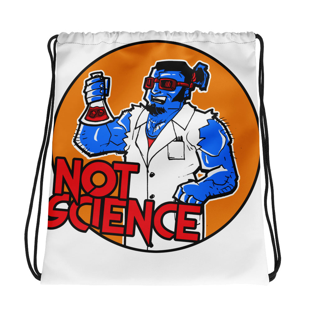 Science Drawstring bag