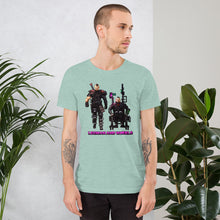 Load image into Gallery viewer, Legman & Wheels | Cyber Punk Colors | T-Shirt