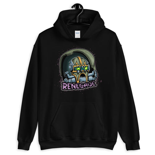 Green Chaos Knight Hoodie