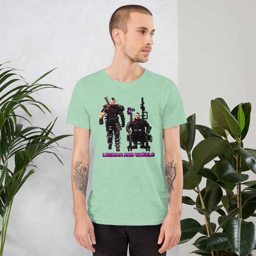 Legman & Wheels | Cyber Punk Colors | T-Shirt