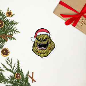 Nurgle Santa Sticker