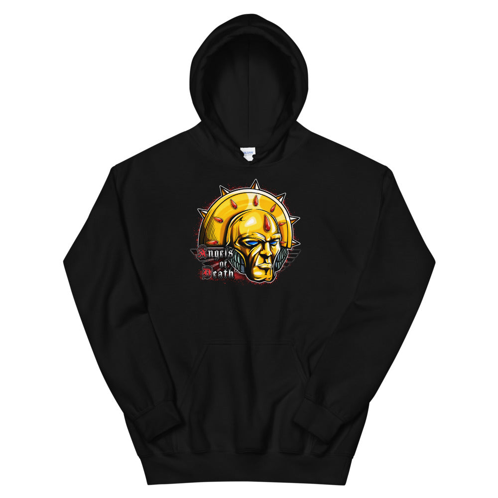 Blood Angels Commander Dante Warhammer 40k Hoodie Original By Kenny Boucher
