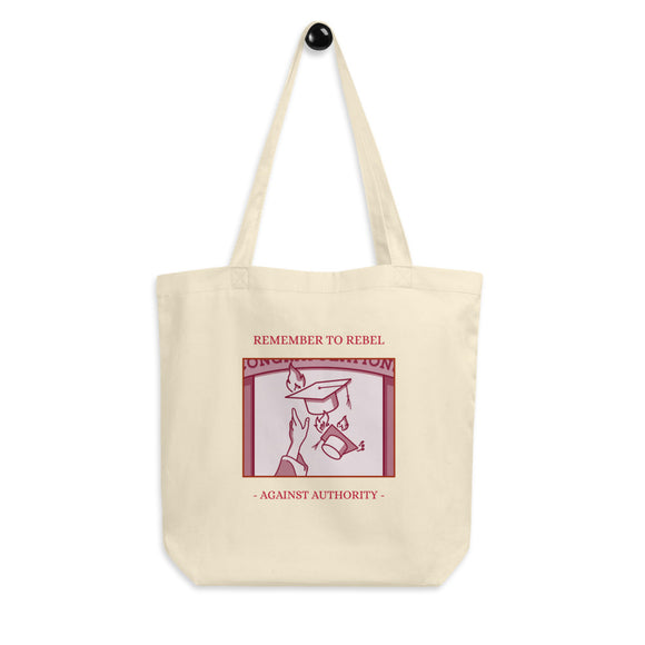 School Rebel Tote Bag