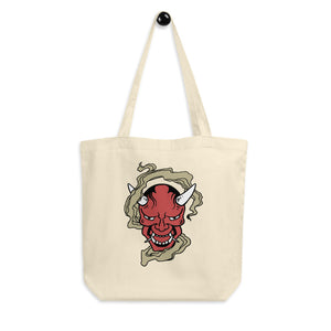 The Red Oni Tote Bag
