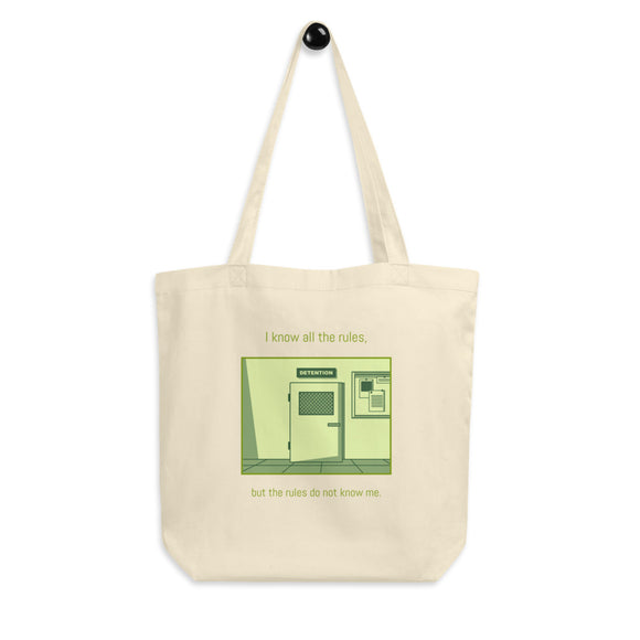 School Rules Tote Bag