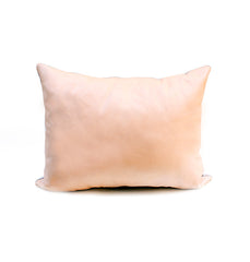 SALE Two Tone Leather Pillow Sample - 12 x 16
