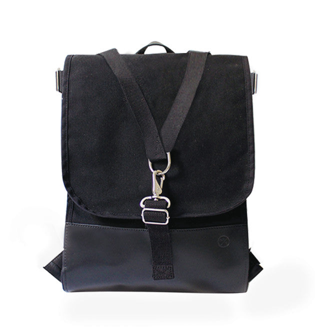 Sacagawea Carryall - Black Canvas