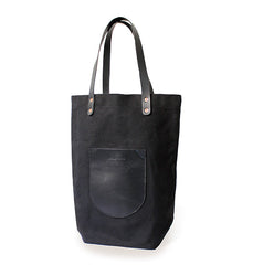 Canvas Market Tote - Black