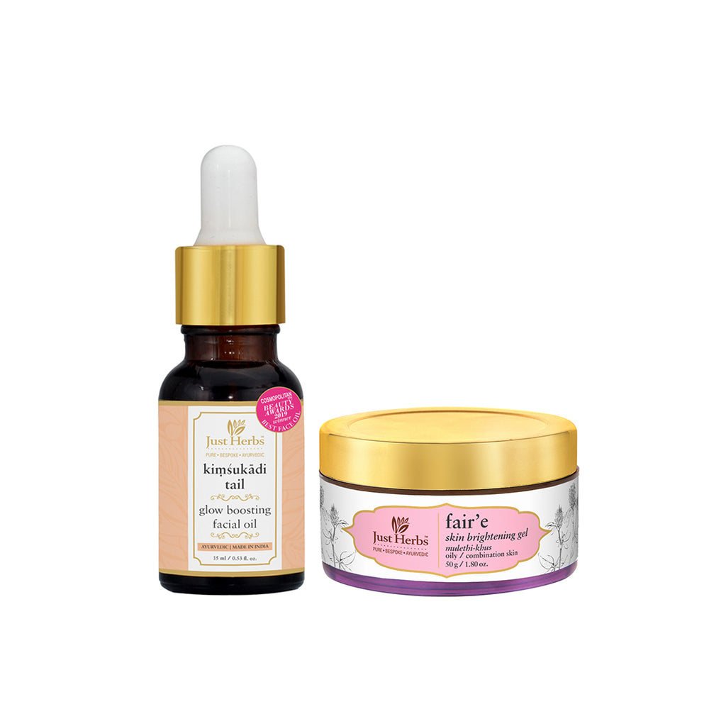 Glow boosting Night-Routine for Oily/Combination Skin (Value $60)