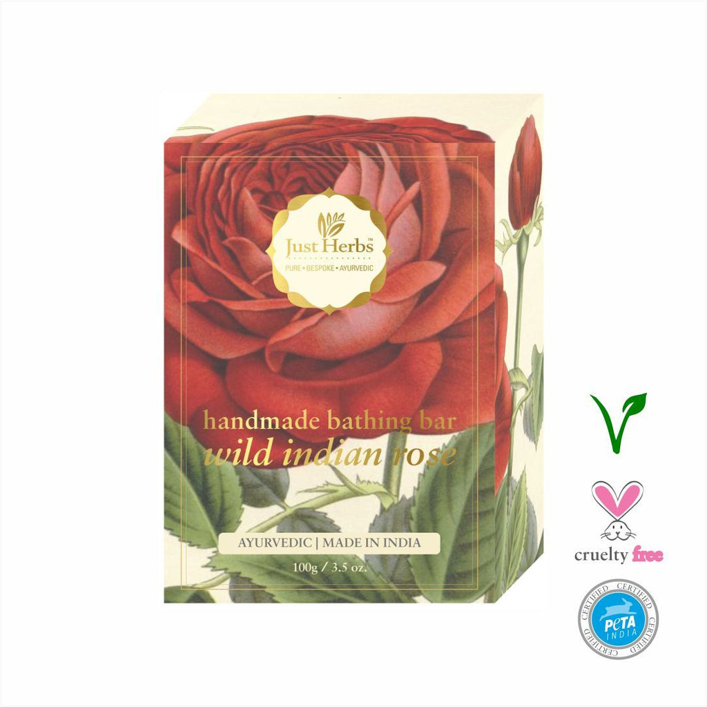 Wild Indian Rose Handmade Bathing Bar