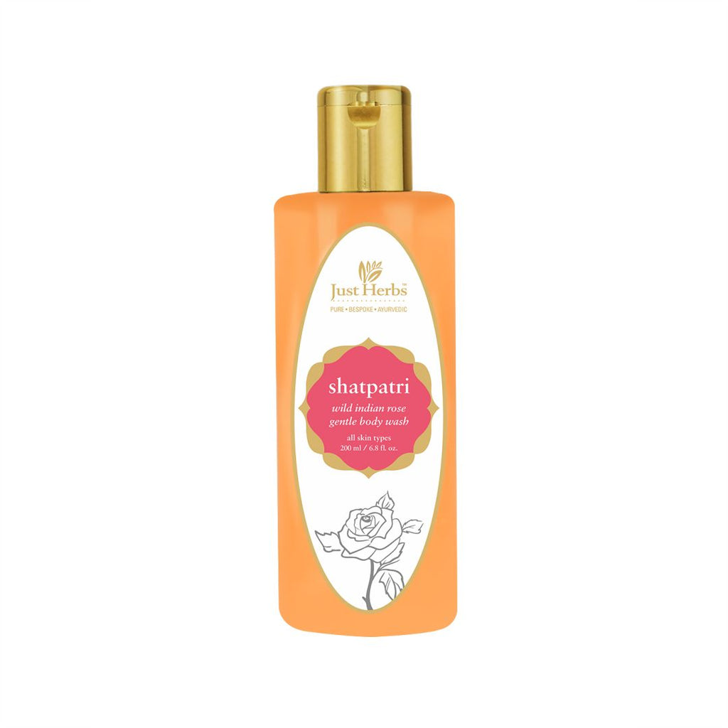 Shatpatri Wild Indian Rose - Gentle Body Wash
