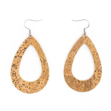 Natural, teardrop shape