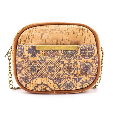 Crossbody bag with traditional Portuguese pattern