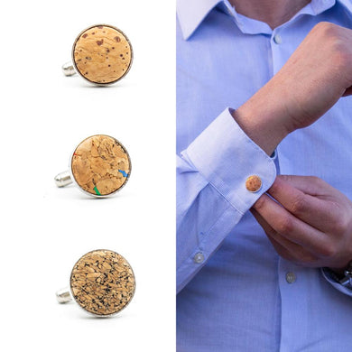 Shirt cufflinks in different colours