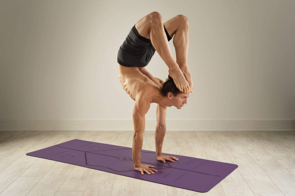 Liforme Yoga Mat - Purple Earth image 5
