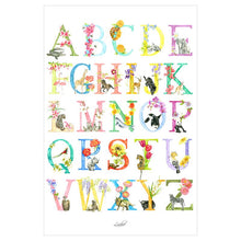 Load image into Gallery viewer, Animal Alphabet Poster