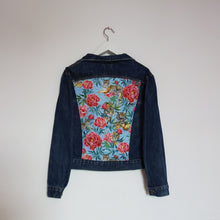 Load image into Gallery viewer, Lee Denim jacket, Tigers and Peonies design