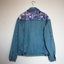 Load image into Gallery viewer, 'Casucci' denim jacket, Zebra Iris design