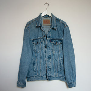 Levi's Denim jacket, Blue Magnolia Elephants design