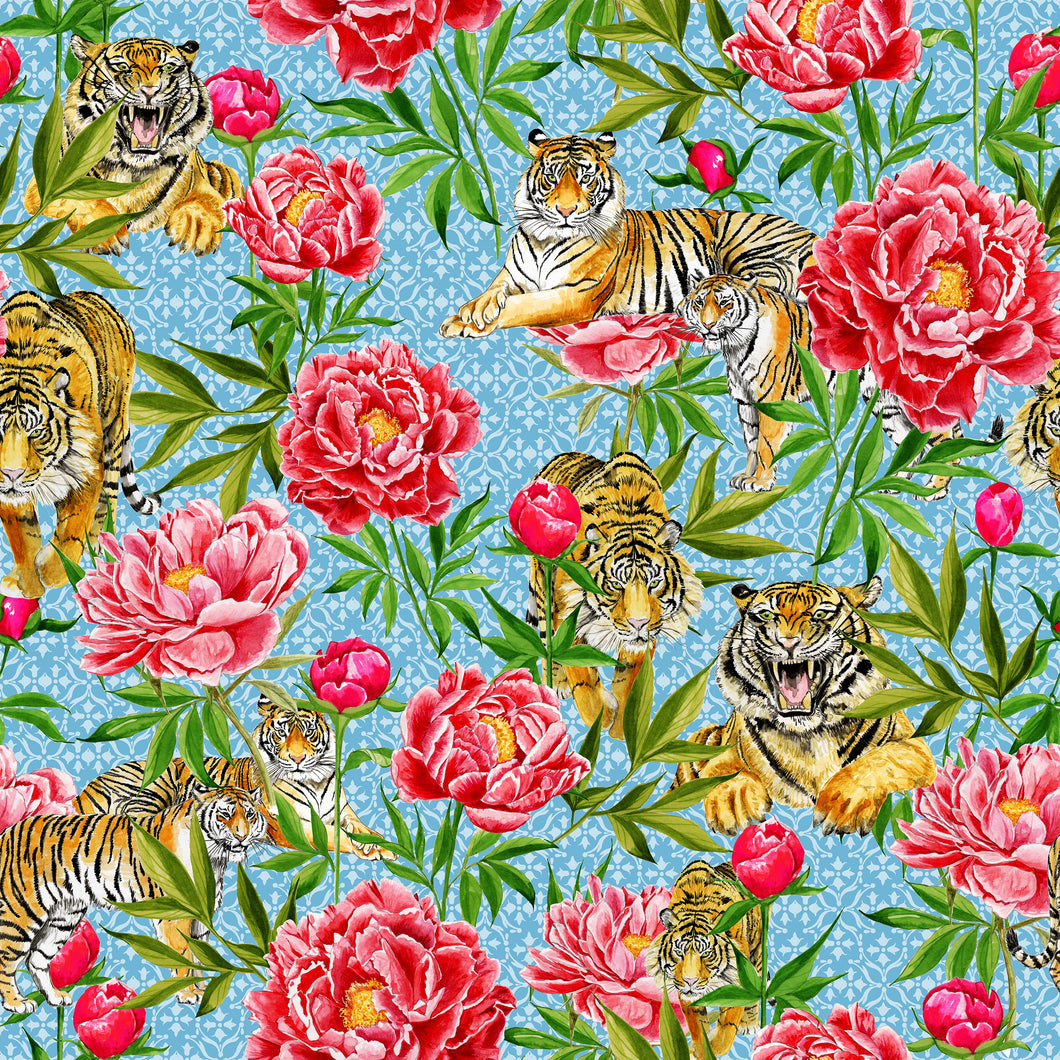 Tigers and Peonies