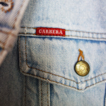 Load image into Gallery viewer, Carrera Denim Jacket, Pink Magnolia Elephants