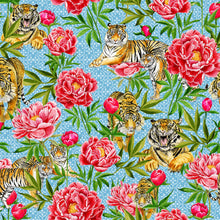 Load image into Gallery viewer, Tigers and Peonies