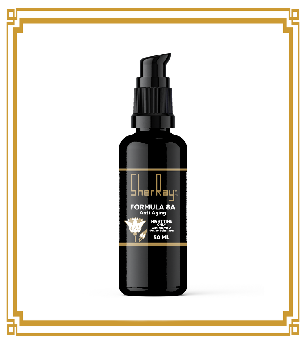 Formula 8-A: Anti-Aging Night-Only Retinol-A Serum