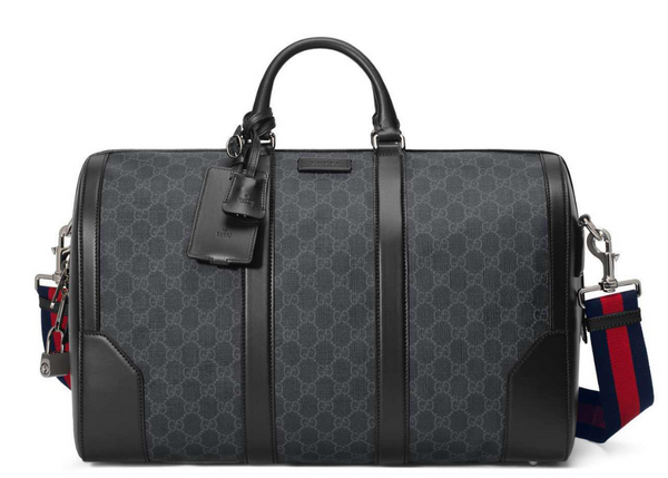 Carry On Duffle Monogram GG Supreme Black