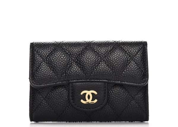 CARD HOLDER QUILTED DIAMOND BLACK