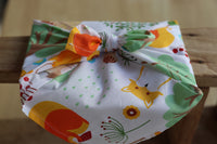 ¨In the woods¨ 100% cotton fabric gift wrap