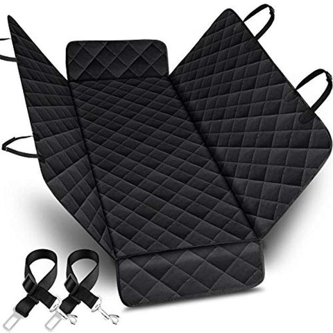 Pet Car Seat Cover - Black Color