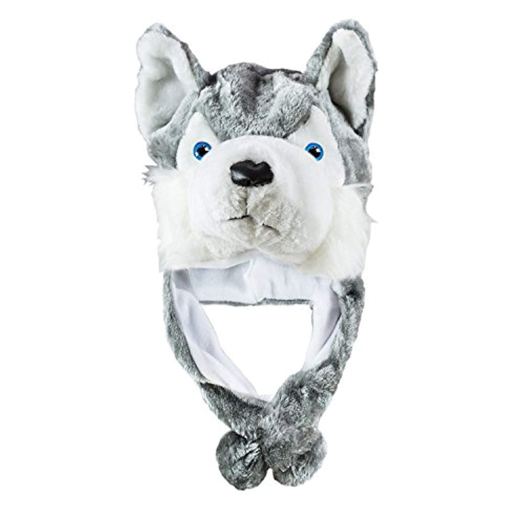 Cute Husky Plush Winter Hat - ProsperDog