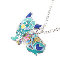 Enamel Corgi Pendant and Necklace - ProsperDog