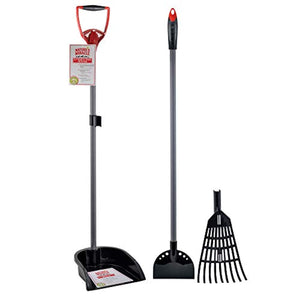 Nature's Miracle 2-in-1 Rake & Spade with Pan - ProsperDog