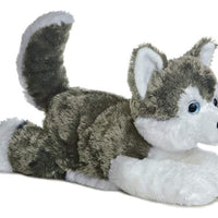 Plush Siberian Husky Dog - 12 Inches Long - ProsperDog