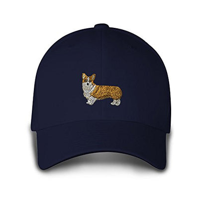 Pembroke Welsh Corgi Embroidered Baseball Hat - ProsperDog