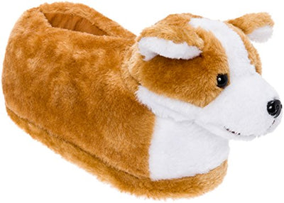 Adorable Corgi Plush Slippers - ProsperDog