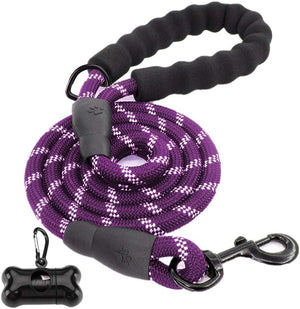 5 FT Heavy Duty Dog Leash with Padded Handle - ProsperDog