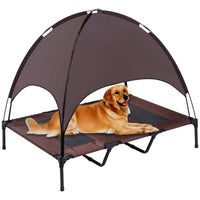 Elevated Pet Cot with Canopy - ProsperDog