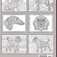 Doodle Dogs Coloring Book for Adults - ProsperDog