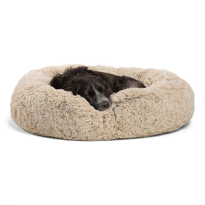 Luxury Shag Faux Fur Donut Cuddler - ProsperDog