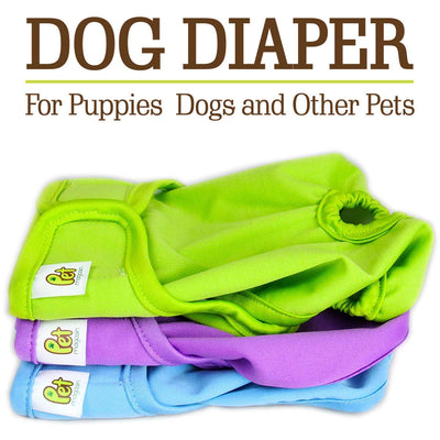 Luxury Reusable Dog Diapers 3 pack - ProsperDog