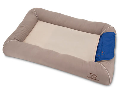 Cooling Pet Bed with Removable Self-cool Gel Mat - ProsperDog