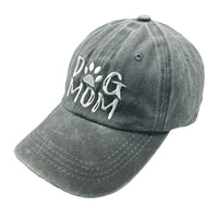 Embroidered Dog Mom Denim Hat - ProsperDog