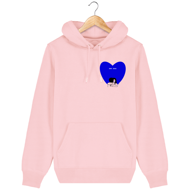 SWEAT A CAPUCHE AMOUR SAUVAGE - COULEURS