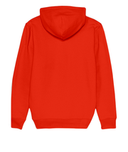 SWEAT A CAPUCHE AMOUR - ORANGE
