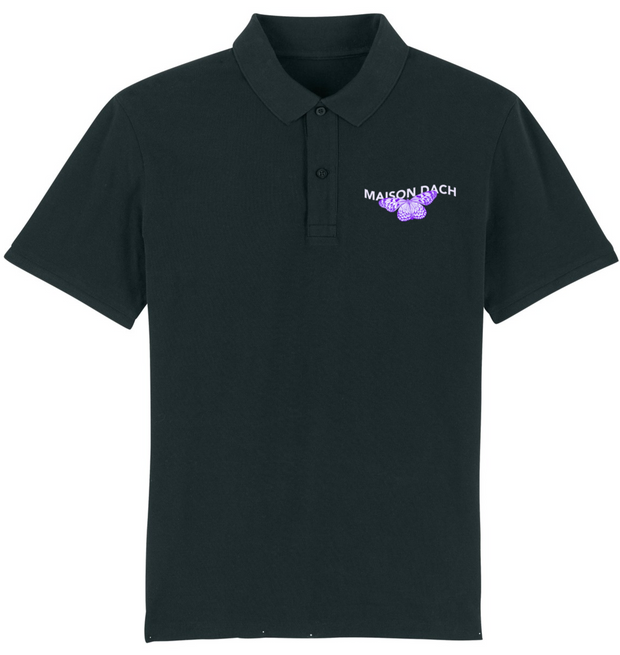 POLO HOMME BRODERIE BUTTERFLY - VIOLET