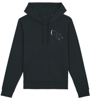 SWEAT A CAPUCHE UN LEGER FRISSONNEMENT - NOIR