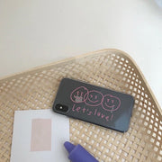 COQUE D'IPHONE LET'S LOVE - Dach Paris