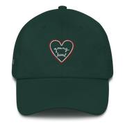 Casquette broderie Young Heart